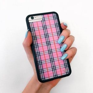 Wildflower Pink Plaid iPhone 7/8 Plus Case